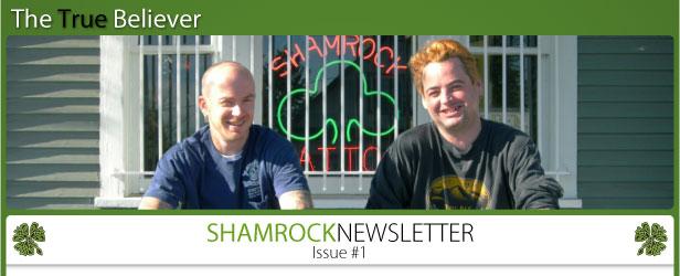 the true believer shamrock newsletter issue number 1