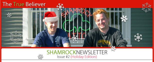 the true believer shamrock newsletter issue number 2