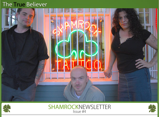 the true believer shamrock newsletter issue number 4